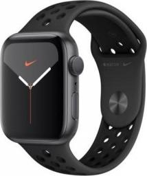Smartwatch Apple Watch Nike Series 5 GPS 44mm Grey Alu Czarny  (MX3W2WB/A)