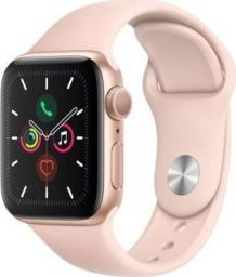 Smartwatch Apple Watch 5 GPS 40mm Gold Alu Różowy  (MWV72WB/A)