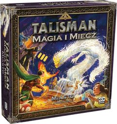Galakta Gra Talisman Magia i Miecz - Dodatek Miasto