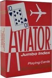 Bicycle Karty Aviator Jumbo Index-09178