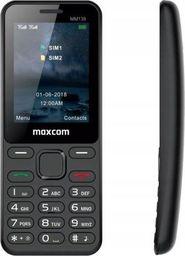 Telefon komórkowy Maxcom Telefon MM 139 DUAL SIM czarny -MAXCOMMM139BLACK