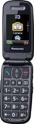 Telefon komórkowy Panasonic Telefon dla seniora KX-TU466 czarny-KX-TU466EXBE