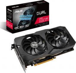 Karta graficzna Asus Dual Radeon RX 5500 XT Evo OC 8GB GDDR6 (90YV0DV1-M0NA00)