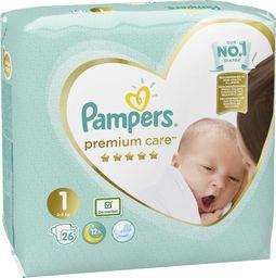 Pampers Pieluchy Care Newborn 1 (2-5 kg) 26szt.