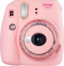 Aparat cyfrowy Fujifilm Instax Mini 9 Jasnoróżowy (16639425)