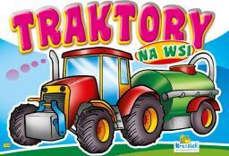 Kolorowanka. Traktory na wsi - Traktor zielony (B5, 12 str.)