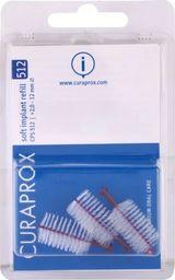 Curaden Curaprox CPS 512 Soft, Implant Szczoteczki międzyzębowe, 3 sztuki