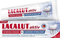 Lacalut  Pasta do zębów Aktiv ochrona dziąseł & łagodne wybielenie 75ml