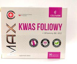 Colfarm Kwas foliowy tabl. 0,4 mg 50 tabl.