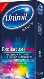 UNIMIL UNIMIL_Excitation Max prezerwatywy 12szt