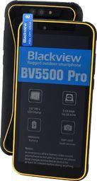 Smartfon Blackview GBV5500 Pro 3/16GB Dual SIM Żółty  (GBV5500 Pro Yellow)