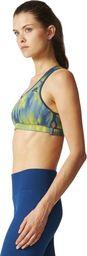 Adidas Biustonosze Rb Bra Print 3 niebieski r. S/AB (AY8513)