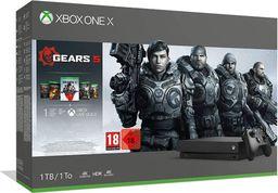 Microsoft Xbox ONE X 1TB + Gears Of War 5 + Gears of War 1-4