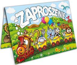 DP Zaproszenie urodzinowe Zoo - 1 szt. uniwersalny