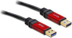 Kabel USB Delock AM-AM 3.0 PREMIUM 2m (82745)