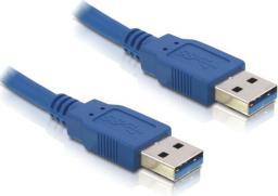 Kabel USB Delock A-A, męsko-męski, 2m, niebieski