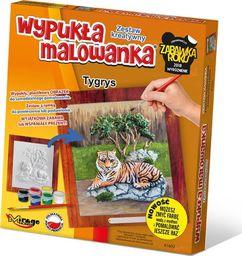 Wypukła Malowanka - Zoo Tygrys
