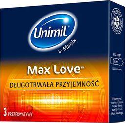 UNIMIL UNIMIL_Max Love lateksowe prezerwatywy 3szt