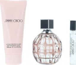 JIMMY CHOO Zestaw 100ml woda perfumowana + 7.5ml edp + 100ml balsam do ciała
