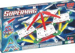 Plastwood Klocki magnetyczne Supermag Classic Primary 120 elementów