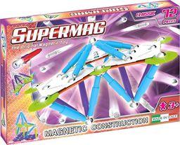 Plastwood Klocki magnetyczne Supermag Classic Trendy 72 elementy