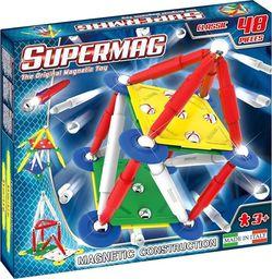 Plastwood Klocki magnetyczne Supermag Classic Primary 48 elementów