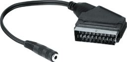 Adapter AV Hama ADAPTER SCART - JACK 3,5mm STEREO GN.