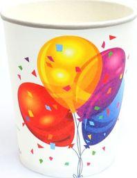 Congee.pl Kubeczki urodzinowe Baloniki 250 ml 6 sztuk uniwersalne (43052)