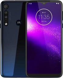 Smartfon Motorola One Macro 64 GB Dual SIM Niebieski  (PAGS0000PL)