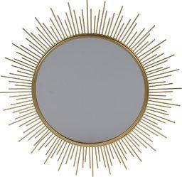 Home Styling Collection Lustro ścienne ZŁOTE dekoracyjne w złotej ramie uniwersalny