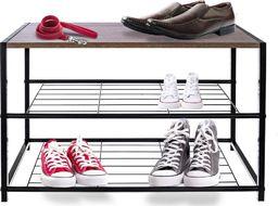 Orion Regał szafka organizer stojak na buty 3 poziomy uniwersalny