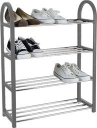 Storage Solutions Regał szafka organizer stojak na buty 4 poziomy uniwersalny