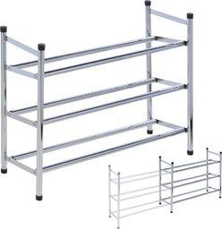 Storage Solutions Regał szafka organizer stojak na buty 3 poziomy uniwersalny
