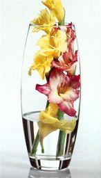 Orion Wazon wazonik flakon szklany na kwiaty ozdoby uniwersalny