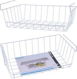 Storage Solutions Kosz koszyk PODWIESZANY pod półkę organizer