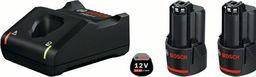 Bosch Bosch Basis Starter Set 2x2.0Ah + GAL 12V-40