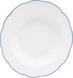 Orion Talerz porcelanowy głęboki obiadowy BLUE LINE uniwersalny