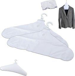 Orion Wieszak DMUCHANY na ubrania 2x wieszaki ubraniowe uniwersalny