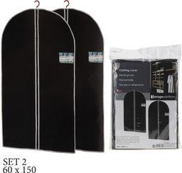 Storage Solutions Pokrowiec na ubrania garnitur 150x60cm 2 szt uniwersalny