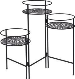 ProGarden Kwietnik metalowy stojak podstawa 3x doniczka uniwersalny