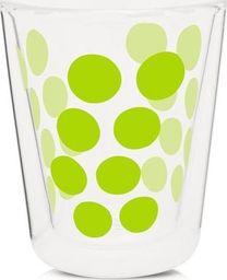 Zak!designs Zak! - Szklanka 200 ml z podw. ściankami, zielona uniwersalny