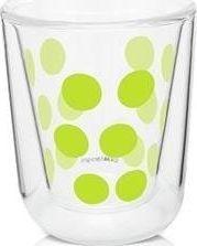 Zak!designs Zak! - Szklanka 75 ml z podw. ściankami, zielona uniwersalny