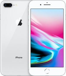 Smartfon Apple iPhone8 Plus 64 GB Srebrny Refurbished