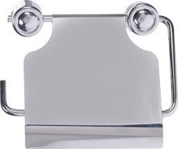 Bathroom Solutions Uchwyt / wieszak na papier toaletowy stalowy uniwersalny
