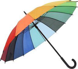 Eh Excellent Houseware PARASOL kolorowy / PARASOLKA tęczowa tęcza 98 cm uniwersalny