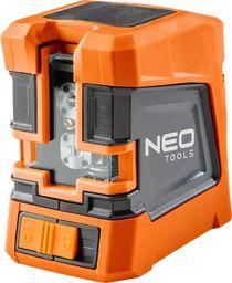 NEO Laser krzyżowy 15m z etui i uchwytem magnetycznym (75-101)
