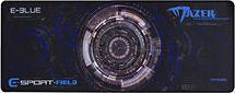 Podkładka E-Blue Podkładka Pod Mysz Gaming XL Czarno-Niebieska E-Blue