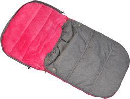 ENERO  Śpiworek zimowy dla dzieci 90x45cm Polar fuksja/melanż