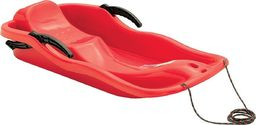 Prosperplast Sanki plastikowe z hamulcami Race czerwone