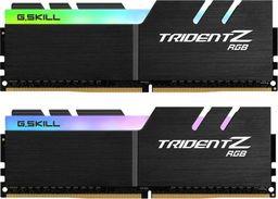 Pamięć G.Skill Trident Z RGB, DDR4, 32 GB, 3600MHz, CL16 (F4-3600C16D-32GTZRC)